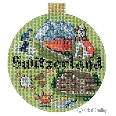 KB 1406 - Travel Round - Switzerland
