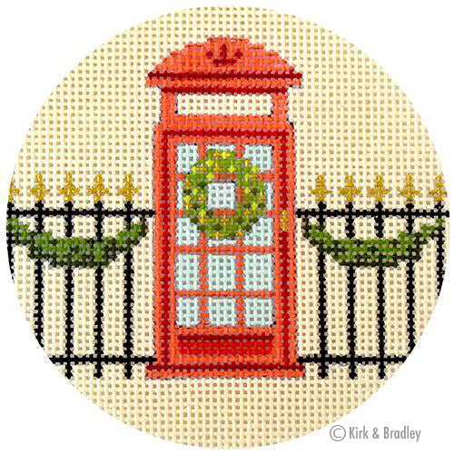 KB 1438 - Christmas in London - Telephone Box