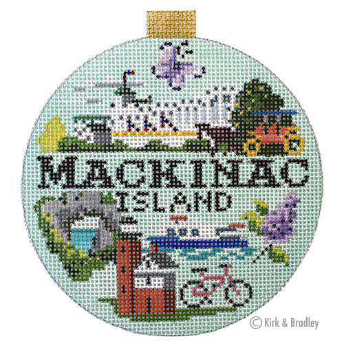 KB 1445 - Travel Round - Mackinac Island