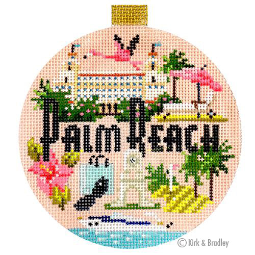 KB 1448 - Travel Round - Palm Beach