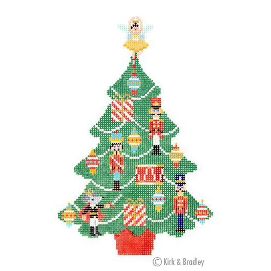 KB 1453 - Christmas Nutcracker Tree