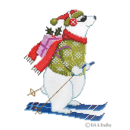 KB 1464 - Skiing Polar Bear