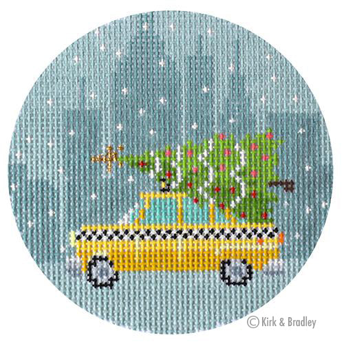KB 1488 - Christmas in New York - Taxi Cab