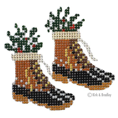 KB 1502 - Retro Ski - Fur Bean Boots