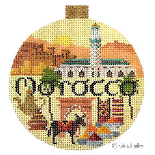KB 1512 - Travel Round - Morocco