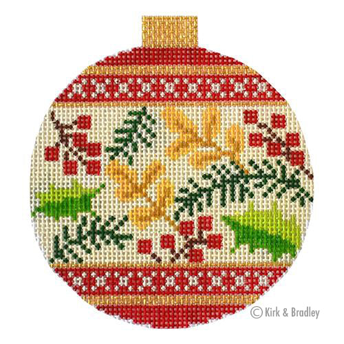 KB 1521 - Holiday Baubles - Red Berries