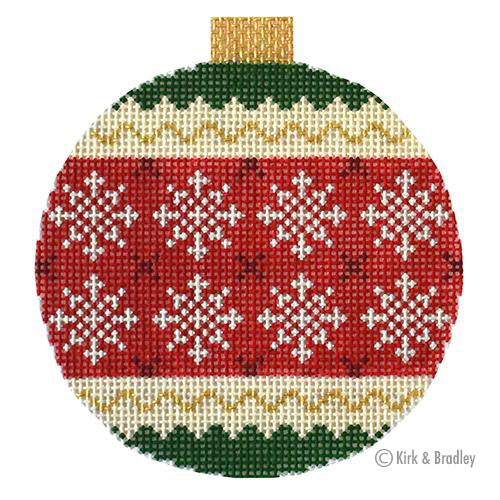 KB 1523 - Holiday Baubles - Snowflakes