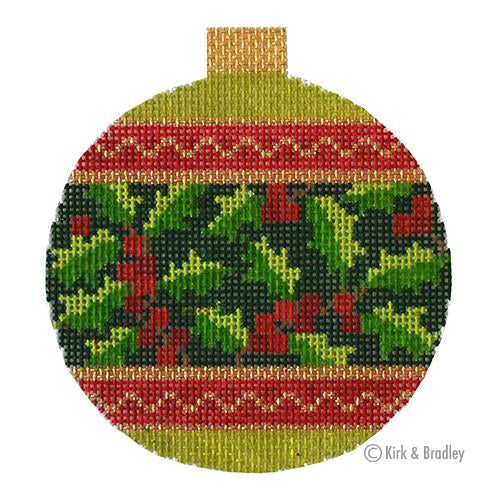 KB 1524 - Holiday Baubles - Holly