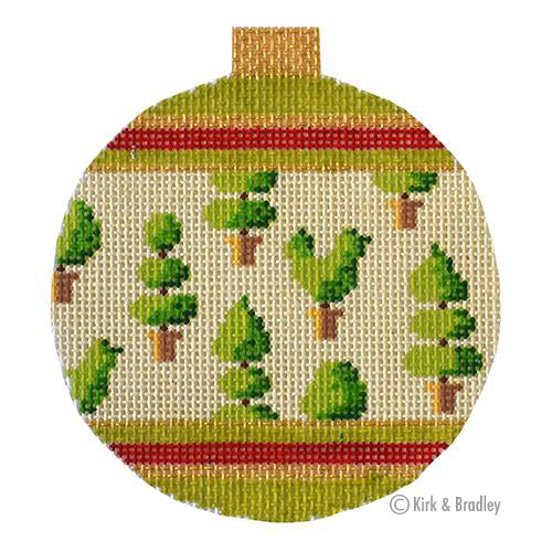 KB 1525 - Holiday Baubles - Topiaries