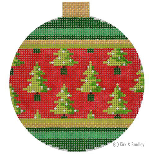 KB 1526 - Holiday Baubles - Christmas Trees