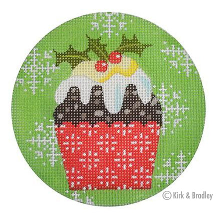 KB 256 - Christmas Cupcake Holly
