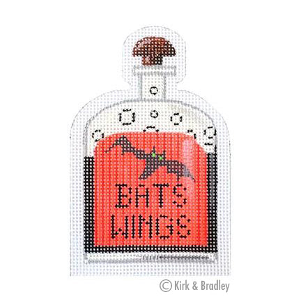 KB 273 - Bats Wings Poison Bottle