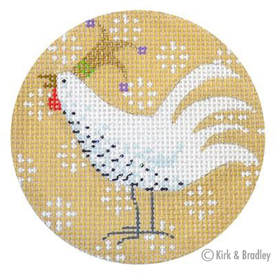 KB 292 - Speckled Chicken Xmas Circle