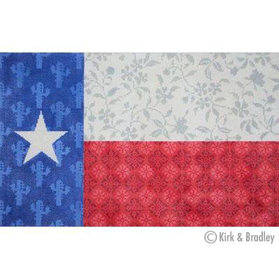 KB 334 - Texas Floral Flag on 13