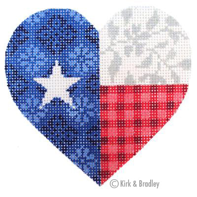 KB 335 - Texas Floral Heart