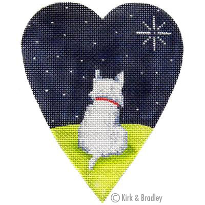 KB 355 - White Highland Terrier Midnight
