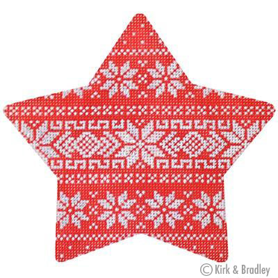 KB 390 - Nordic Stripe Xmas Star