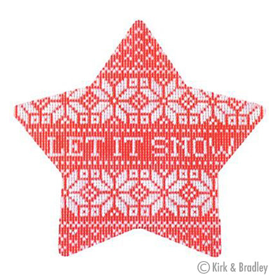 KB 391 - Nordic Let It Snow Xmas Star