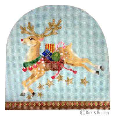 KB 403 - Christmas Snowdome - Prancer