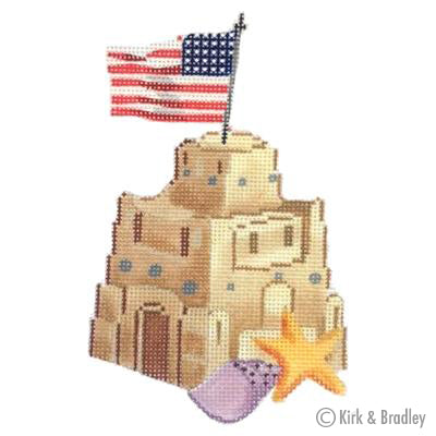 KB 432 - Retro Beach - American Sandcastle
