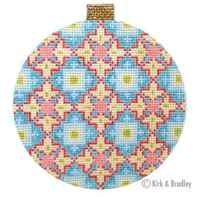 KB 453 - Florentine Bauble - Blue