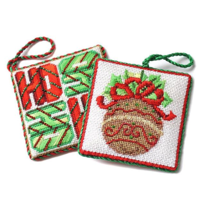 BB 3181 - Square Ornament - HO HO HO HO