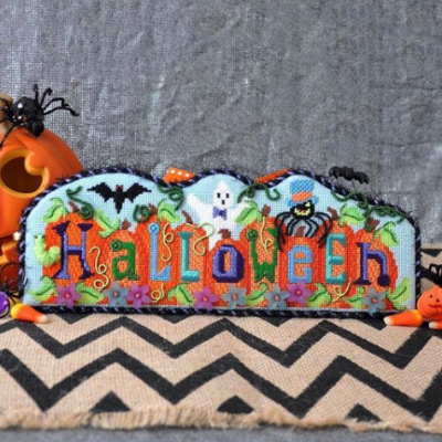 BB 2513 - HALLOWEEN on Pumpkins with Stitch Guide
