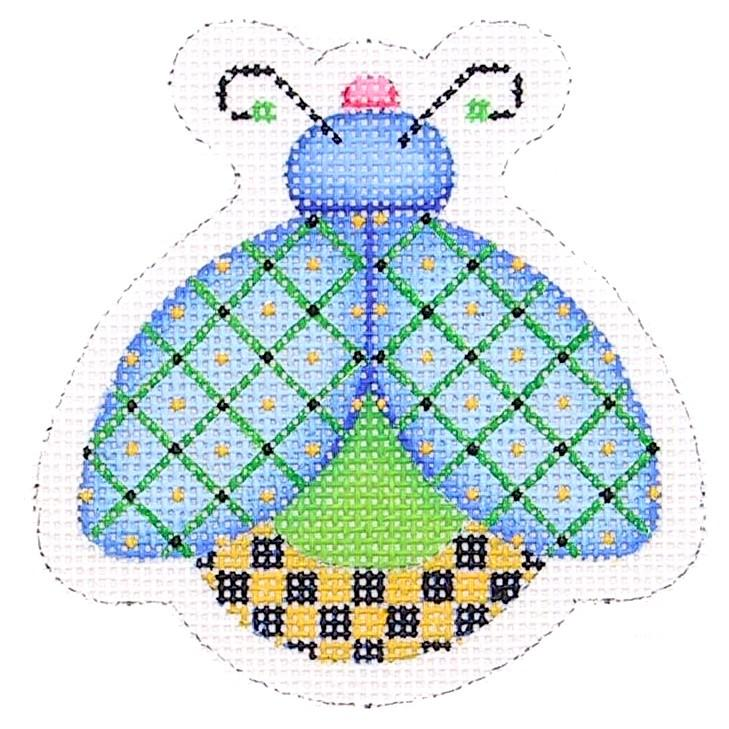 BB 1563 - Lady Bug - Blue, Green & Yellow