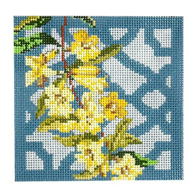 KB 1294 - Trellis Coaster - Carolina Jasmine