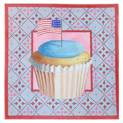 KB 140 - Stars & Stripes Cupcake