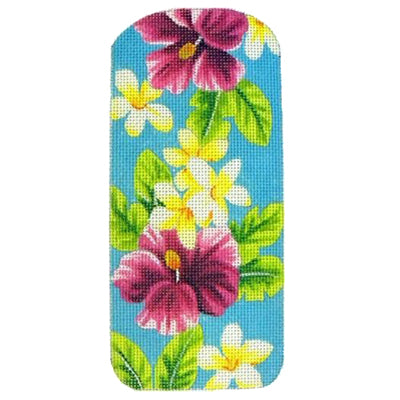 KB 125 - Eyeglasses Case Tropical Aqua
