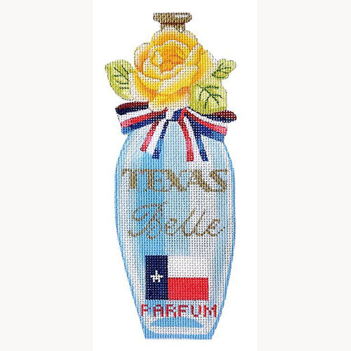 KB 395 - Texas Belle Perfume Bottle