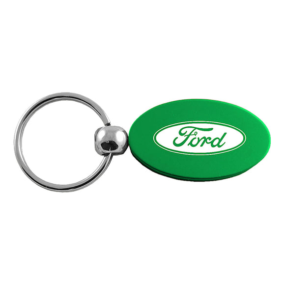 Ford Keychain & Keyring - Green Oval