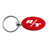 Dodge R/T Keychain & Keyring - Red Oval