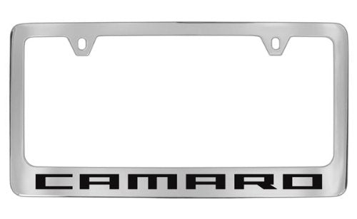 Chevrolet Camaro Chrome Plated Metal License Plate Frame Holder