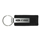 Ford F-150 Keychain & Keyring - Carbon Fiber Texture Leather