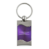 Chrysler Town & Country Keychain & Keyring - Purple Wave