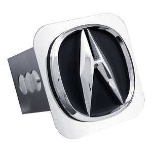 Acura 'Black Fill' Chrome Trailer Hitch Plug