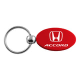 Honda Accord Keychain & Keyring - Red Oval