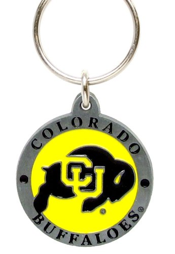 Colorado Buffaloes Keychain & Keyring - Pewter