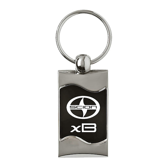 Scion xB Keychain & Keyring - Black Wave