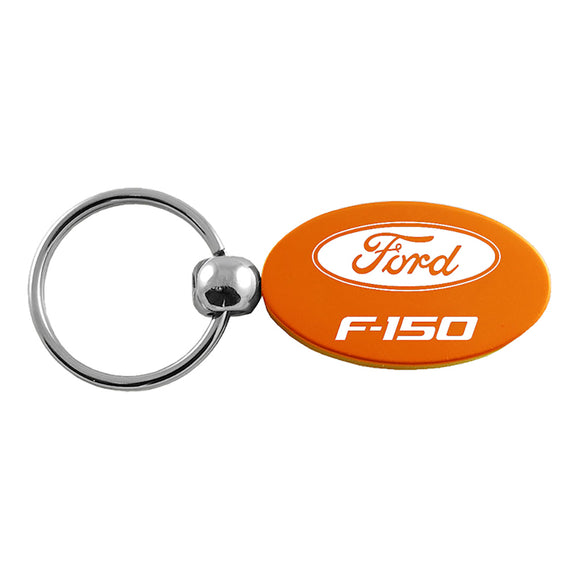 Ford F-150 Keychain & Keyring - Orange Oval