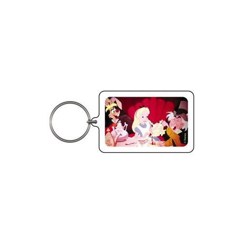 Alice in Wonderland Tea Party Keychain & Keyring