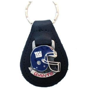 New York Giants NFL Keychain & Keyring - Leather