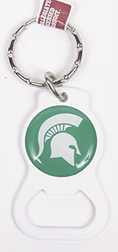 Michigan State Spartans Keychain & Keyring - Bottle Opener