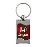 Honda Insight Keychain & Keyring - Burgundy Wave