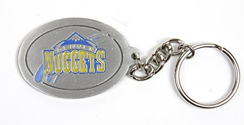 Denver Nuggets NBA Keychain & Keyring - Pewter