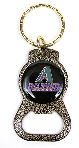 Arizona Diamondbacks MLB Keychain & Keyring - Bottle Opener - Gold