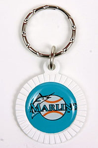 Florida Marlins MLB Keychain & Keyring - Circle