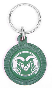 Colorado State Rams Keychain & Keyring - Circle